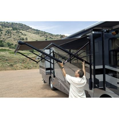 Picture of Carefree Eclipse Black Adjustable Pitch Electric Awning Arm VXJE50HW 00-1502