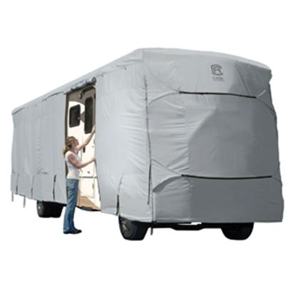 Picture of Classic Accessories PermaPRO (TM) Polyester Water Resistant RV Cover For 33-37' Class A Motorhomes 80-183-191001-00 01-0208