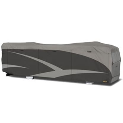 """Picture of ADCO Designer SFS Aquashed (R) Gray Fabric/Poly Cover For 28' 1""""-31' Class A Motorhomes 52204 01-0228"""