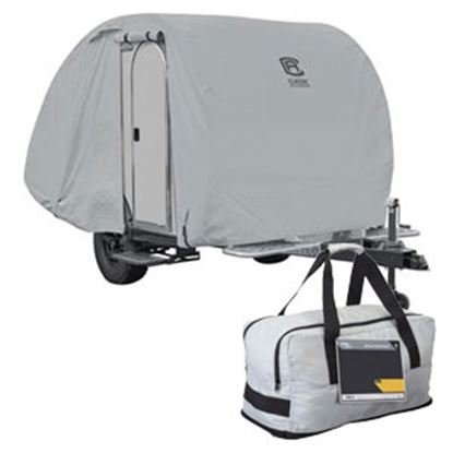 Picture of Classic Accessories PermaPro RV Cover For Teardrop Trailer 80-399-161001-RT 01-0898