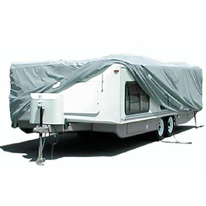 "Picture of ADCO SFS AquaShed (R) 270""L x 100""W x 60""H Cover For Up To 22' 6"" Hi-Lo Style Trailers 12252 01-1110"
