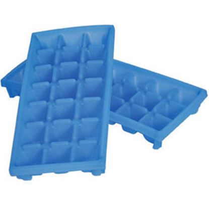 Picture of Camco  2-Pack Plastic 21 Mini Cube Ice Cube Tray 44100 03-0467