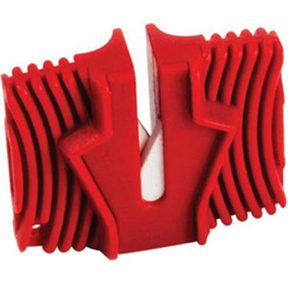 Picture of Camco  Red Manual Single Stage Knife Sharpener 51029 03-0725