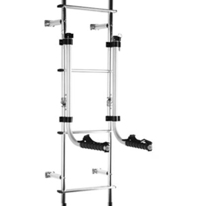Picture of Stromberg Carlson Camping Chair Holder 50 lb Aluminum Camping Chair Storage Rack LA-104 05-0414
