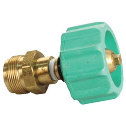 """Picture of JR Products  1-5/16"""" FACME Quick Connect x 1""""-20 Cylinder Thread LP Hose Connector 07-30275 06-0077"""