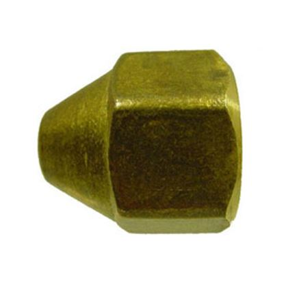Picture of Marshall Excelsior  Brass Female POL Fitting Cap ME1699 06-0623