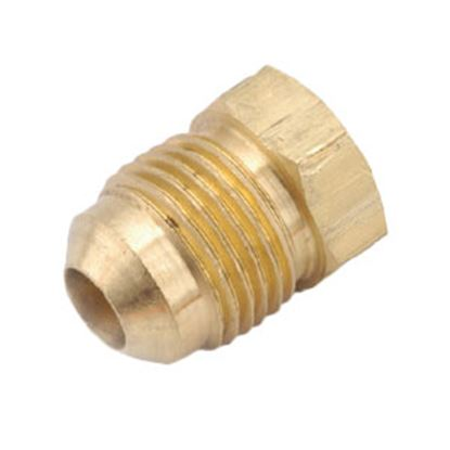 "Picture of Anderson Metal LF 7439 Series Lead Free Brass 1/2"" Fitting Plug 704039-08 06-1222"