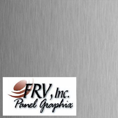 Picture of FRV  1210 Brushed Aluminum Refrigerator Door Panel Set 1210IMBA 07-0170