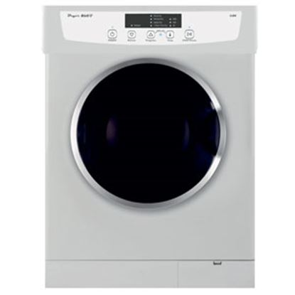 """Picture of Pinnacle  23.6""""W White Stackable 13LB Clothes Dryer 18-860 07-8520"""