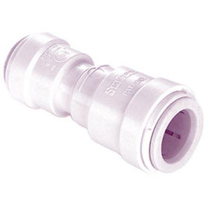 "Picture of Sea Tech 35 Series 1/2"" Fem QC Copper Tube x 1/4"" Fem QC OD Tube Off-White Polysulfone Fresh Wa 3515R-1004 10-0088"