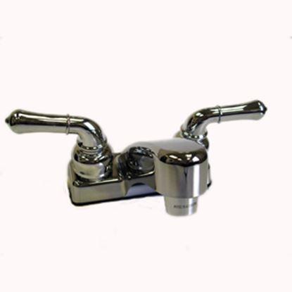 Picture of Lasalle Bristol  Chrome w/2 Teapot Handle Lavatory Faucet 20377R300A 10-0334