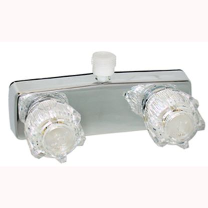 """Picture of Phoenix Faucets  4"""" Polished Chrome Plated Brass Shower Valve w/Clear Knobs PF213324 10-1451"""