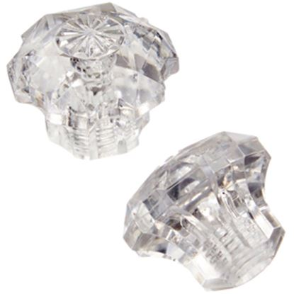 Picture of Utopia  2-Pack Clear Diverter Knob Faucet Handle For Utopia 39002 10-1551