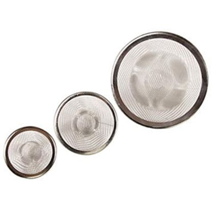 Picture of Camco  3-Pack Polypropylene Sink & Shower Drain Strainer 42273 10-1698