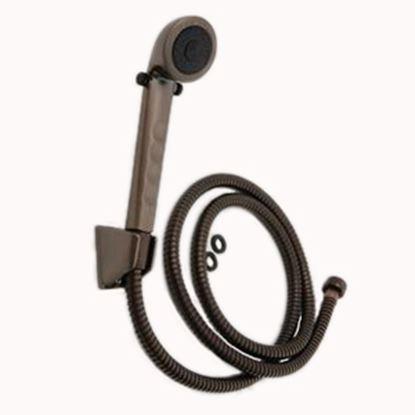 "Picture of Empire Brass  Bronze Handheld Shower Head w/60"" Hose X-APS60-ORB 10-2337"