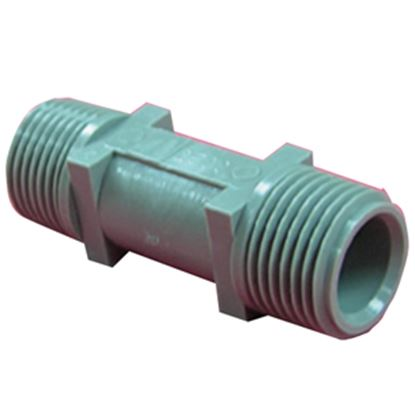"Picture of QEST Qicktite (R) 1/2"" MPT x 1/2"" MPT Acetal Fresh Water Check Valve  10-3510"