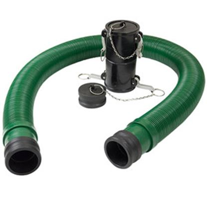 Picture of Waste Master  Green 20' Vinyl Sewer Hose 360784 11-1803
