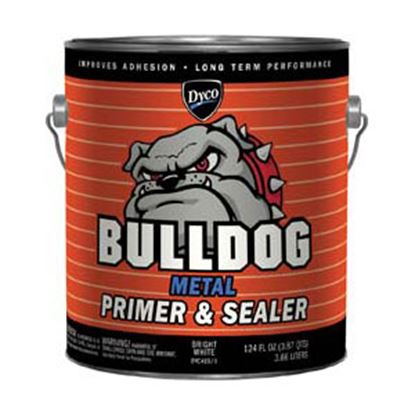 Picture of Dyco Paints Bulldog White 1 Gallon Roof Sealant Primer for Metal DYC465/1 13-0583