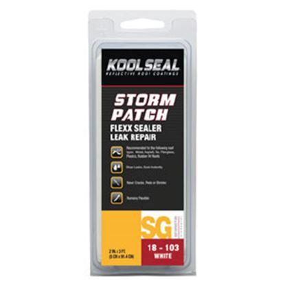 """Picture of Kool Seal Flexx Sealer (TM) Gray 2"""" x 3' Length Roof Repair Tape KS00018103-99 13-0698"""