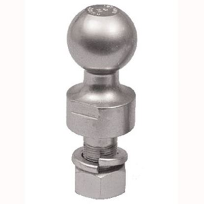 """Picture of Husky Towing  2-5/16"""" Trailer Hitch Ball w/ 1-1/4"""" Diam Shank 39386 14-1062"""