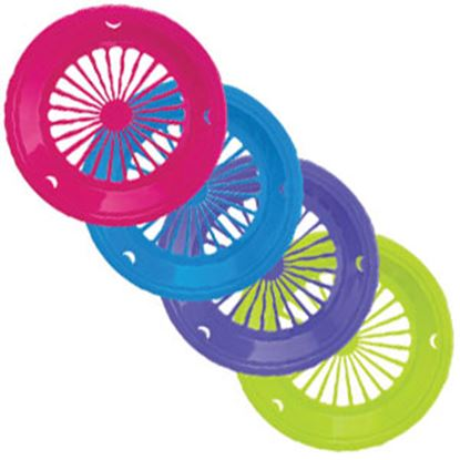 Picture of B&R Plastics  Assorted Color Plastic Plate Holder For Paper Plates PH-4-12 14-1297