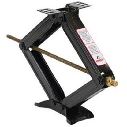 "Picture of Husky Towing  2-Pack 5,000 Lb 24"" Max Stabilizer Scissor Jack w/ Crank Handle 88121 14-1712"