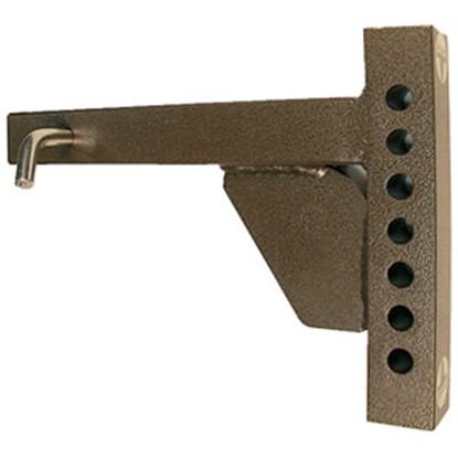 """Picture of Blue Ox  14""""L Weight Distribution Hitch Shank w/ 6 Mounting Holes BXW4001 14-5271"""