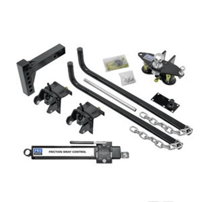Picture of Pro Series Hitches  550 lb Round Bar Pro Series Wt Distribution Hitch 49901 14-7030
