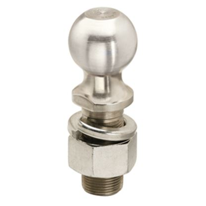 "Picture of Tow-Ready  Zinc 2"" Trailer Hitch Ball w/ 1-1/4"" Diam x 2-3/4"" Shank 63831 14-8615"
