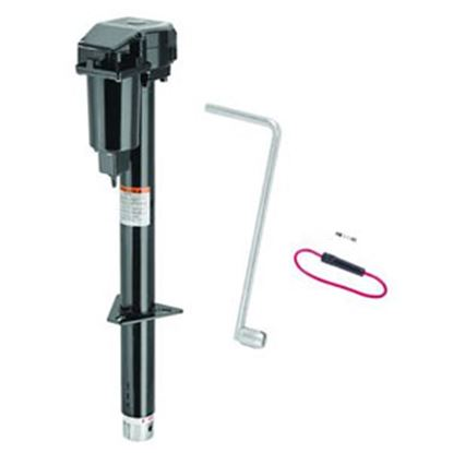 Picture of Pro Series Hitches Sidewind Black 2500 Lb A-Frame Powered Drive Trailer Jack 500198 15-0710