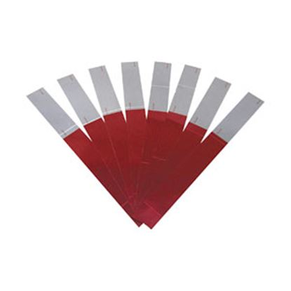 "Picture of Peterson Mfg.  2"" Red/White-8 Strip Kit 465K 18-0252"