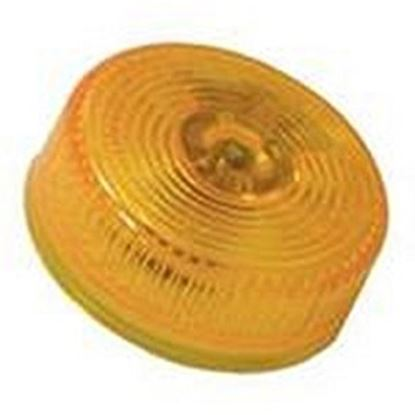 """Picture of Peterson Mfg.  Amber 2"""" Dia Clearance Side Marker Light V146A 18-0497"""
