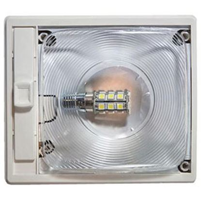 Picture of Arcon  Bright White LED Ceiling Single Interior Light w/Clear Lens 20667 18-0840