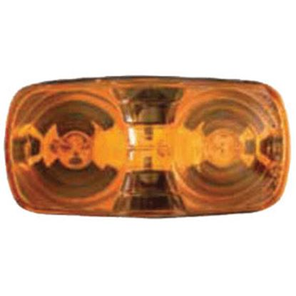 """Picture of Optronics  Amber 4-1/16""""L x 2-1/8""""W x 1-1/8""""D Clearance/ Side Marker Light MC42AS 18-1007"""