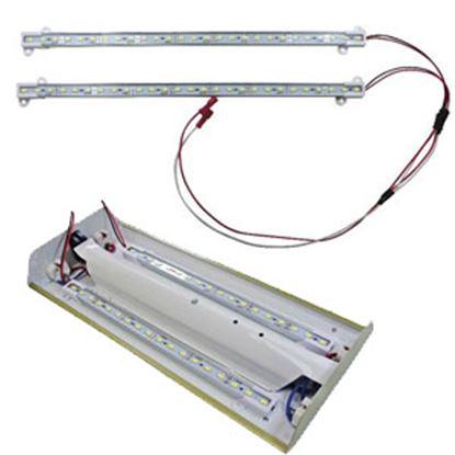 "Picture of Diamond Group  2-Pack Daylight White 12""L LED Strip Interior Light DG65101VP 18-1485"