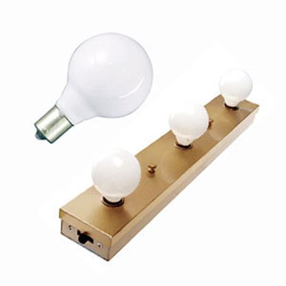 Picture of Progressive Dynamic  White Lavatory Vanity Light Bulb 107006 18-1540