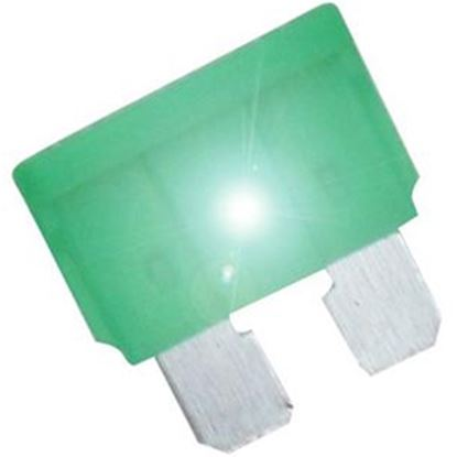 Picture of Diamond Group  2-Pack Time Delay 30A ATP Green Blade Fuse DGIF121VP 19-0013