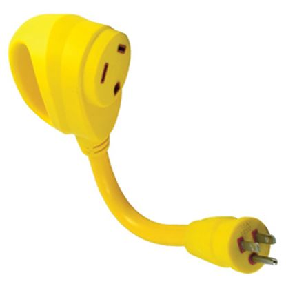 Picture of Marinco  15A/30A Pigtail Power Cord Adapter 1530ARV 19-0538