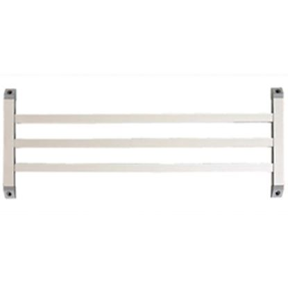 Picture of Camco  Aluminum Three Bar Style Screen Door Push Bar 43971 20-0093