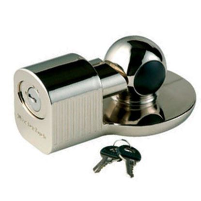 """Picture of Master Lock  2-5/16"""" Hitch Ball & Clamp Trailer Coupler Lock 377DAT 20-0315"""