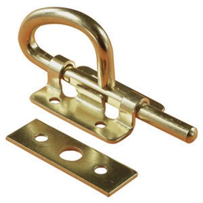 Picture of RV Designer  Brass Bunk Latch H509 20-0598