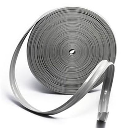 """Picture of Camco  Light Gray Vinyl 1"""" W X 100' L Trim Molding Insert 25233 20-0751"""
