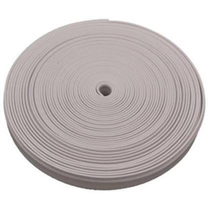 """Picture of AP Products  Polar White Plastic 7/8""""W X 25'L Trim Molding Insert 011-349 20-1370"""