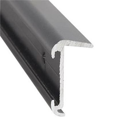 Picture of AP Products  16'L Black Aluminum Roof Edge Trim 021-57402-16 20-6969