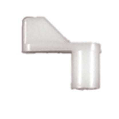 """Picture of Strybuc  7/16"""" Offset Size White Nylon Window Screen Clip 499C 23-1203"""