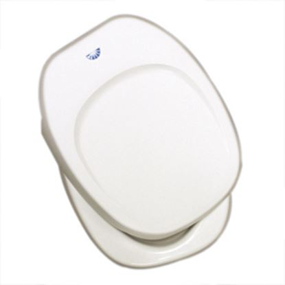 Picture of Thetford  Parchment Square Seat & Cover For Thetford Aurora Toilet 36787 44-1060