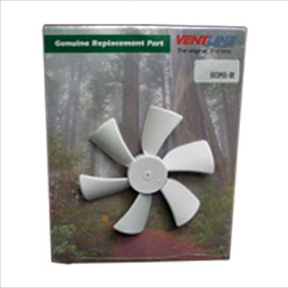 "Picture of Ventline  6"" x 1/8"" Shaft Fan Blade for Ventline 12V Ventadomes BVC0466-00 47-0230"