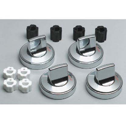 Picture of Range Kleen  Chrome Oven/Stove Control Knob for Range Kleen 8224 69-7050