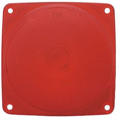 Picture of Grote  Red Lens for 51042/51102/51142/51192/51242/51342/52002/52082/52112/52122 90742 69-9073