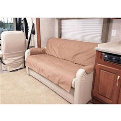 "Picture of CoverCraft Canine Covers (R) SofaSaver Tan 60""x18"" RV Sofa Cover SRS001TN 71-2659"